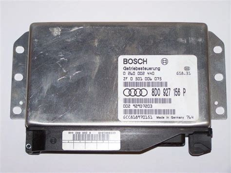 transmission control 1998 audi riolet transmission control purchase 96 98 audi a4 transmission control unit module tcu tcm 8d0 927 156 p motorcycle in