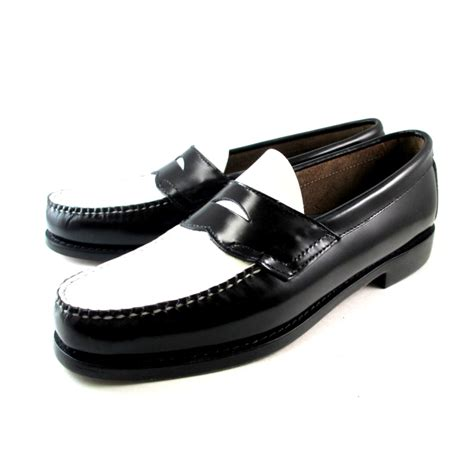 black and white loafer footmonkey rakuten global market leather shoes s