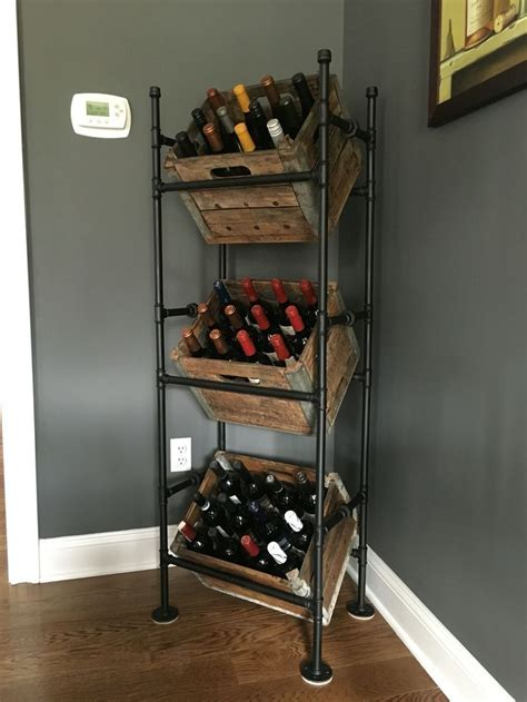 kitchen wine rack ideas 25 best diy wine racks ideas on kitchen wine