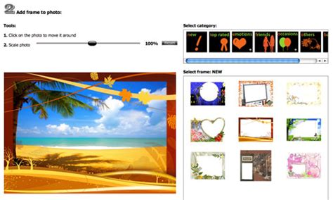 modificare foto con cornici programmi per modificare foto 40 web applications