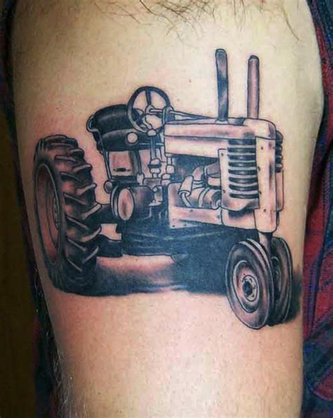 blake tattoo tractor by gaudette at crimson designs