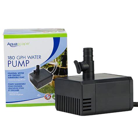 aquascape design pumps aquascape 180 gph statuary fountain pump mpn 91025