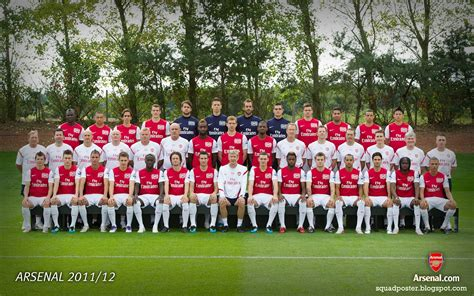 arsenal squad 2010 arsenal first team squad 2011 12 football squad wallpapers