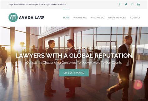 avada theme law th 232 mes wordpress pour sites vitrines simples