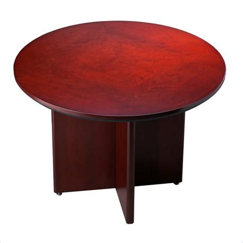round table sunnyvale hollenbeck 42 round conference table macbride office furniture