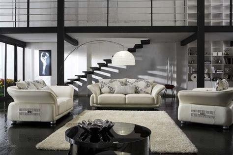 living room furniture atlanta white elegant leather sofa set with throw pillows modern