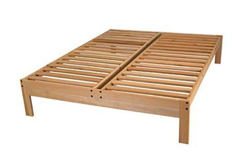 Nomad Platform Bed Frame Solid Hardwood World Of Futons Apartment Deal