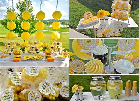 summer party ideas sunflower party theme party ideas party favors parties