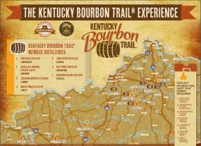 kentucky brewery map oct 2012 map of the kentucky bourbon trail including the