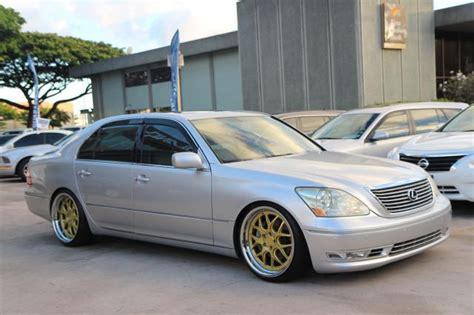 lexus ls430 rims autoland 04 lexus ls430 coilover rims leather sunroof
