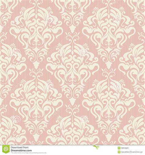 seamless pattern background vector seamless damask vector background cartoon vector