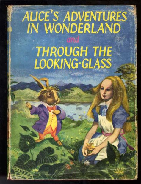 adventures in through the looking glass books through the looking glass in the