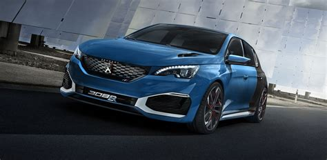 peugeot 308 r hybrid concept unveiled photos 1 of 3
