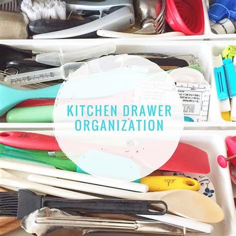 kitchen drawer organization a pretty in the suburbs