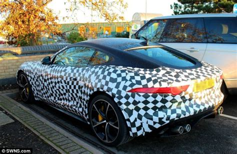 spa motors leamington spa camouflaged 163 80k jaguar f type coupe spotted in leamington