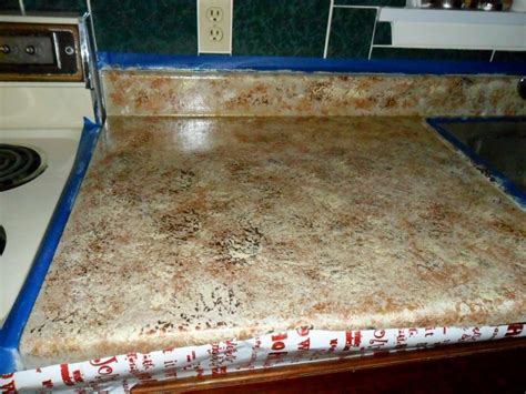 Faux Countertops by Quiltanddagger Faux Granite Painting Formica Countertops