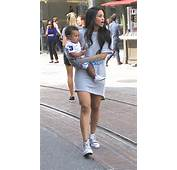 Singer Ciara Pushes Her Son Future In A Stroller While Shopping At The