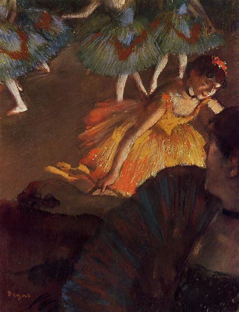 degas 1834 1917 art albums degas edgar ballerina and lady with a fan 171 edgar degas 1834 1917 171 artists 171 art might just art