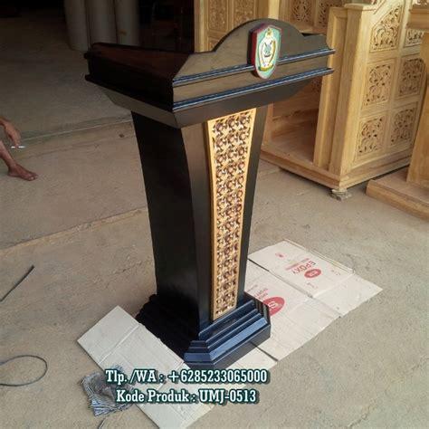 Podium Jati Jepara podium jati jepara toko mimbar masjid ready stock