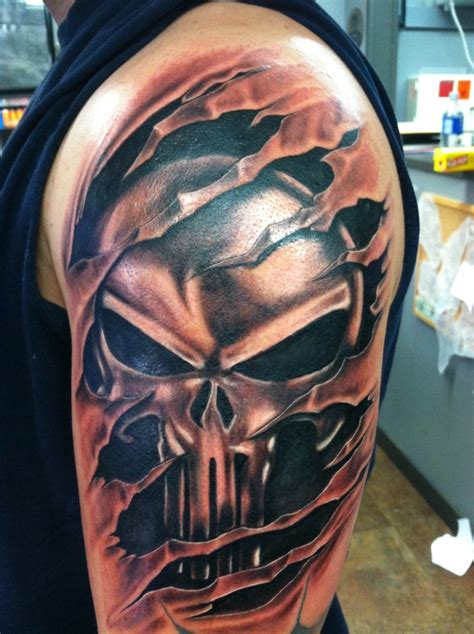 punisher tattoos tattoos and