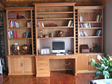 wall unit with desk and bookcases wall units with desk and bookcase plus cabinets homesfeed