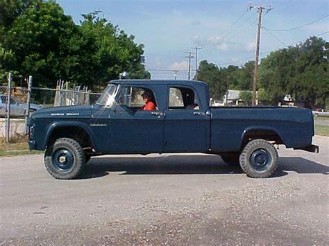 1964 W200 Dodge Power Wagon Crew Cab