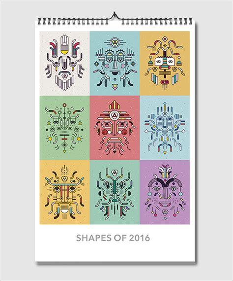 design wall calendar 2015 25 best new year 2016 wall desk calendar designs for