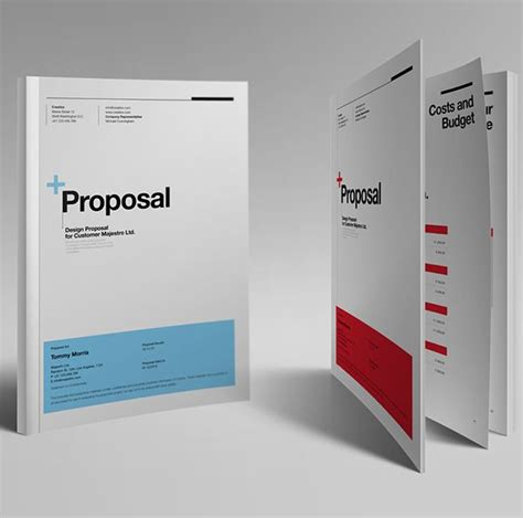 design proposal behance proposal template suisse design with invoice on behance