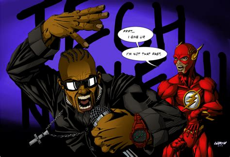 tech n9ne and the flash by kev19180 on deviantart