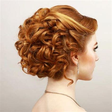 elegant hairstyles bump 1000 ideas about curly homecoming hairstyles on pinterest