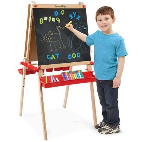 magnetic easel for toddlers deluxe magnetic standing art easel for kids educational