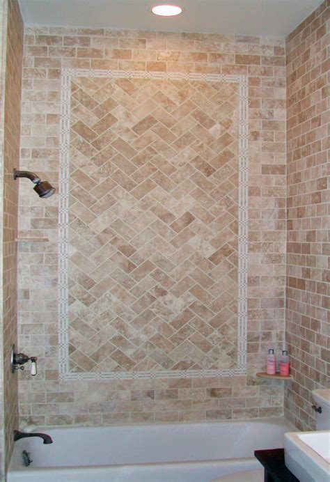 Bathroom And Shower Designs brenner remodeling tile work gallery