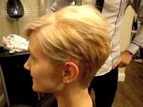 blonde haircuts youtube ladies pixie cut youtube