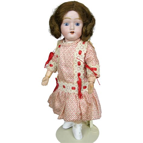 12 jointed doll adorable 12 quot antique bisque doll with jointed