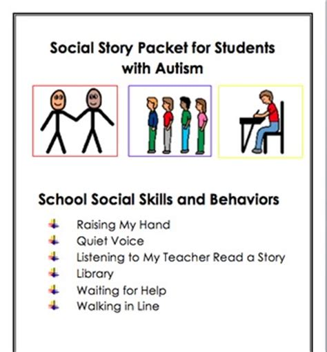 social skills handbook for autism activities to help learn social skills and make friends books social stories for students with autism social skills and
