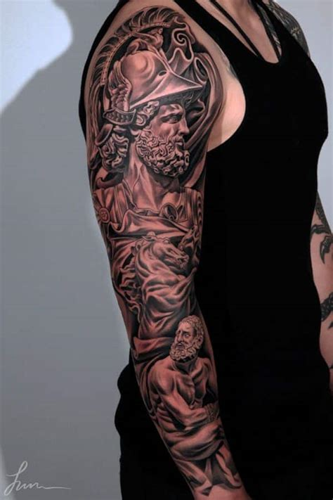 3d tattoo sleeve ideas 47 sleeve tattoos for men design ideas for guys