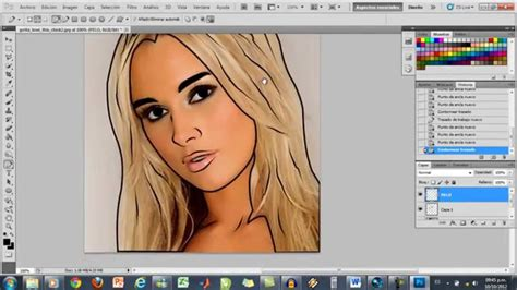 tutorial photoshop vectorizar imagen vectorizar una foto con photoshop cs5 youtube