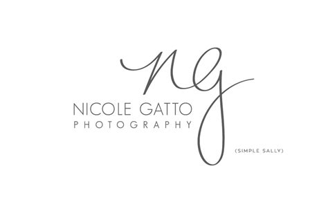 handwritten logo design ng nicole gatto 187 simple sally