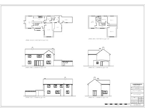 residential building plan and elevation studio