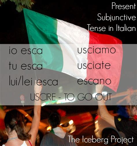 cucinare conjugation the present subjunctive mood in italian or the tense that