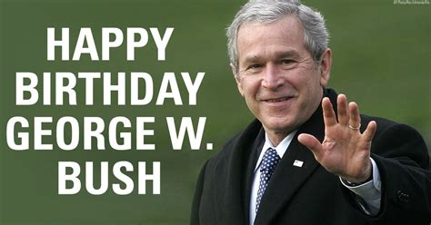 george bush birthday tales from a tribble happy birthday president george w bush