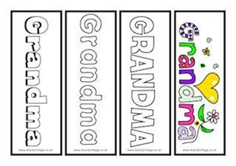 printable bookmarks for grandparents day grandparents day printables