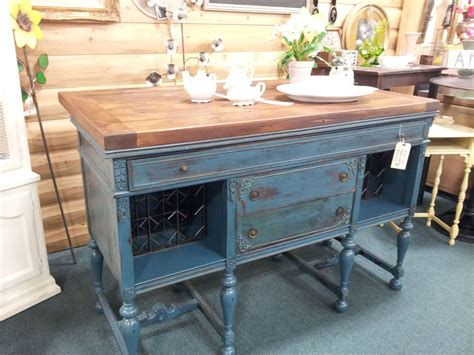 kitchen island antique hometalk vintage buffet to kitchen island wine bar