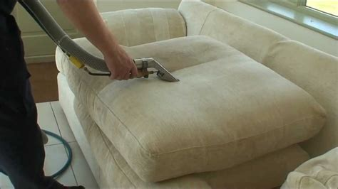 how to clean a used couch sofa cleaning using steam youtube