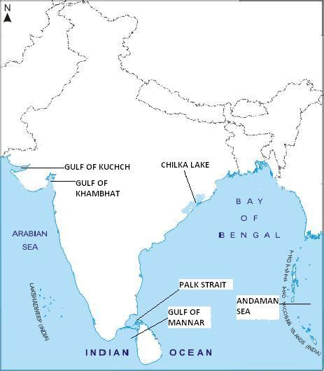 India Outline Map Coloured by Pics For Gt Indian Map Physical Blank