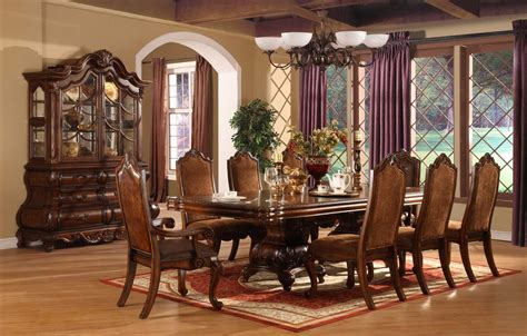 traditional dining room sets formal dining room sets for 8 homesfeed