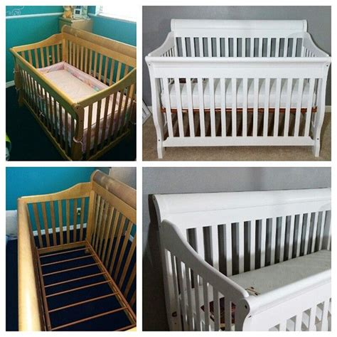 diy painted crib  lullabypaints  iconosquare