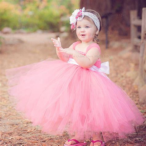 Dress Flower Baby beautiful infant princess fashion dress baby flower