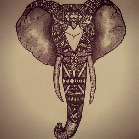 doodle elephant the elephant doodle on behance