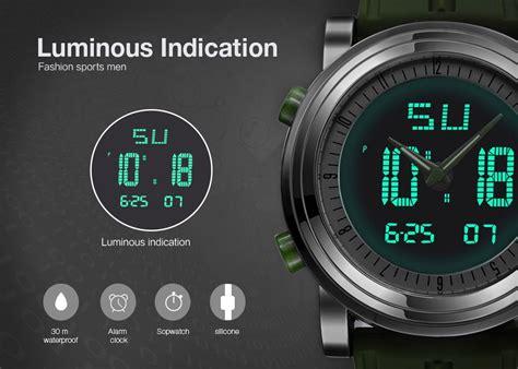 Jam Tangan Pria Swiss Army Elegan Tissot Fossil G Shock sinobi jam tangan sporty digital pria 9368 green